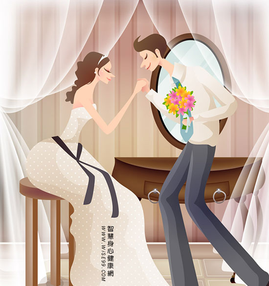 经营美好婚姻的秘诀:在我心中你是美好的