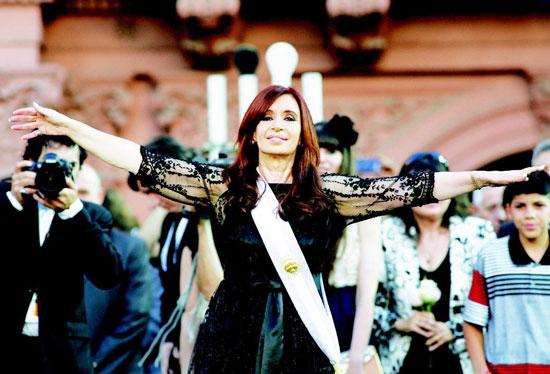 阿根廷女总统:克里斯蒂娜