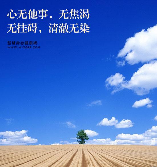 唯有活在当下的人才可以无事,每一刻都尽情地、充满地、没有挂虑地去生活。一刻无事一刻清,一日无事一日好。无事最可贵。无事的人去除了生命的焦渴,像秋天的潭水,那样澄明幽静,清澈无染,明白没有挂碍。