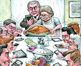 人人都在玩手机,却不在意生活本身