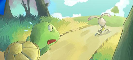 """""""龟兔赛跑""""的故事,尽人皆知"""