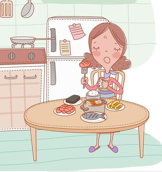 不好好吃早餐,增加你得病的风险