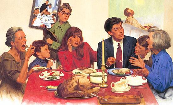 我们在父母辈营造的,如此之饮食环境、饮食观念中长大