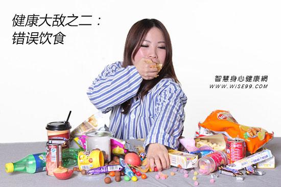 健康大敌之二:错误饮食