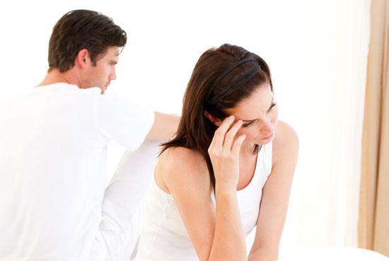 一个与生命伴侣、妻子/丈夫,关系不和谐的人