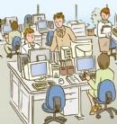 过度工作,影响健康,还降低工作效率