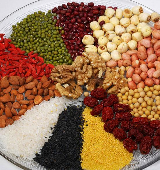 五谷益养五脏,食疗养生的好材料