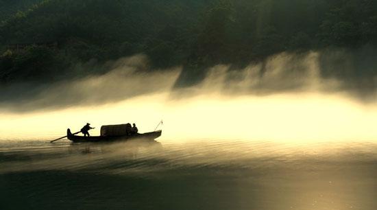 生命是一条河流,一条从生到死的河流