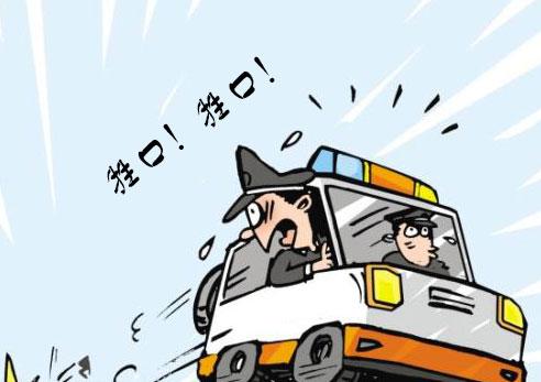 一个人开车行驶在山间公路上,迎面驶来一辆货车